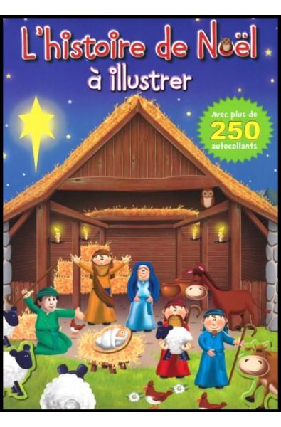 Histoire de Noël à illustrer
