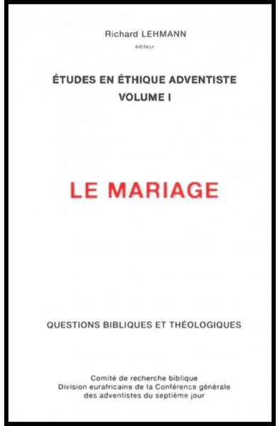 Le mariage Vol.1