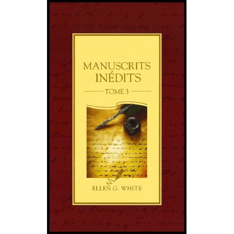 Manuscrits inédits - Tome 3