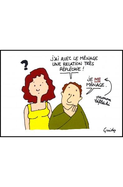 """Carte 3 """"Ménage"""""""