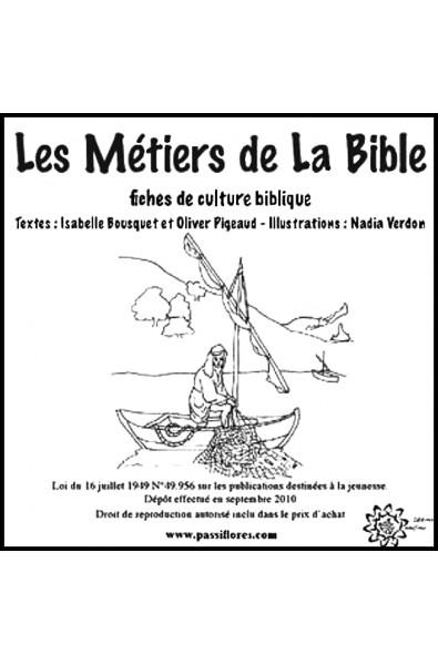 Pochette Métiers de la Bible