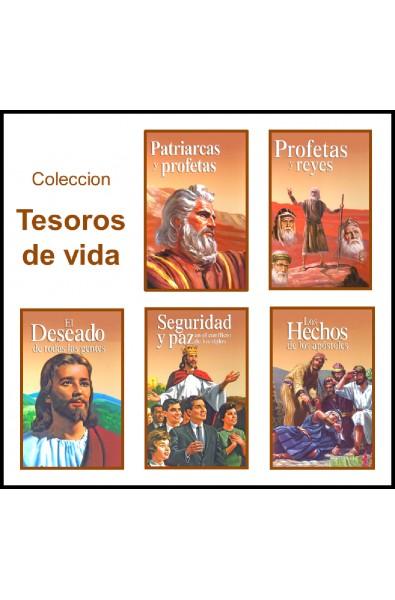 Coleccion Tesoros de vida (5 tomos)