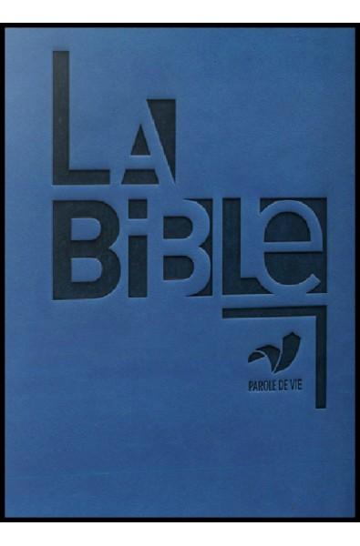 Bible PDV, similicuir bleu, sans les deutérocanoniques
