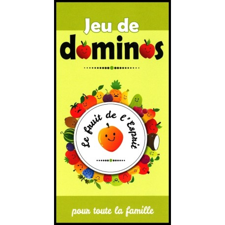 Jeu de dominos - Le fruit de l'Esprit