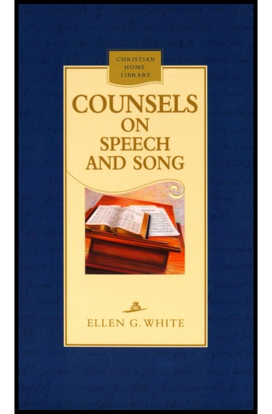 Counsels on speech and song (hard cover)