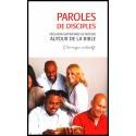 Paroles de disciples
