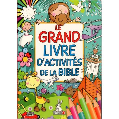 Grand livre d'activités de la Bible, La