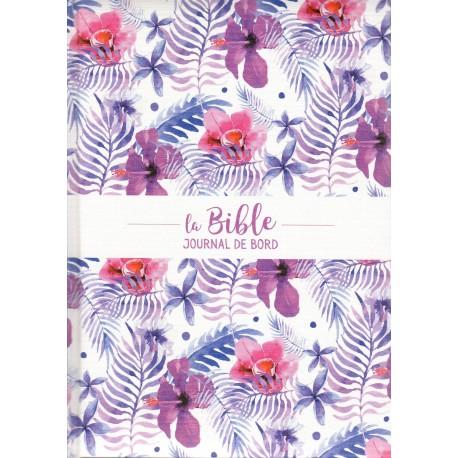 Bible Segond 21 Journal de bord violette