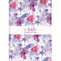 Bible Segond 21 Journal de bord violette