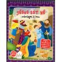 Coloriages à l'eau - Jésus est né