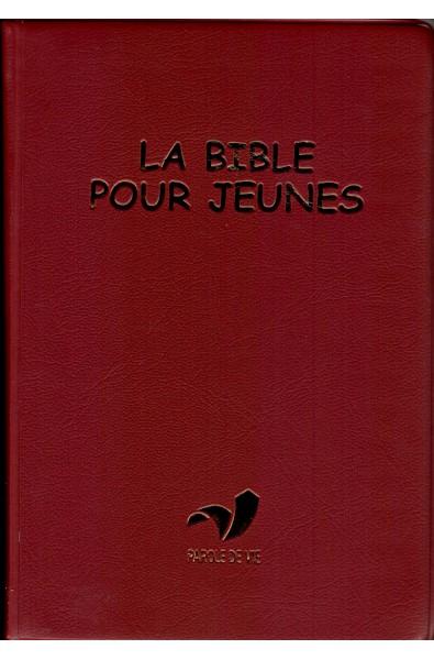 Bible PDV pour jeunes vinyle bordeaux