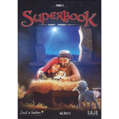 DVD - Superbook Saison 3 - Episodes 7 - 9