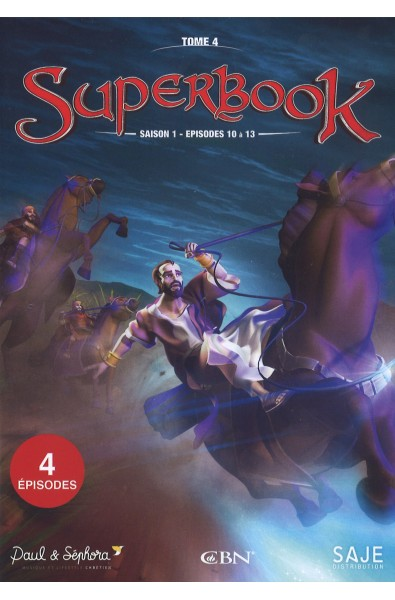 DVD - Superbook Saison 1 - Episodes 10 - 13