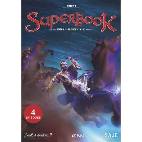 DVD - Superbook Saison 1 - Episodes 10 - 13