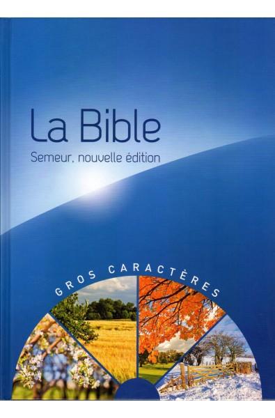 Bible du Semeur 2015 d'étude, gros caractères