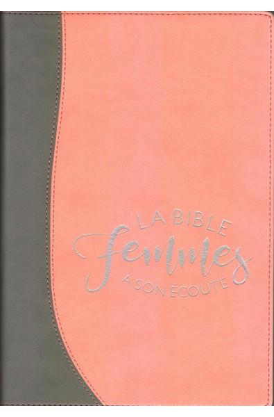 Bible Segond 1910 - Femmes à son écoute - Sable/pamplemousse