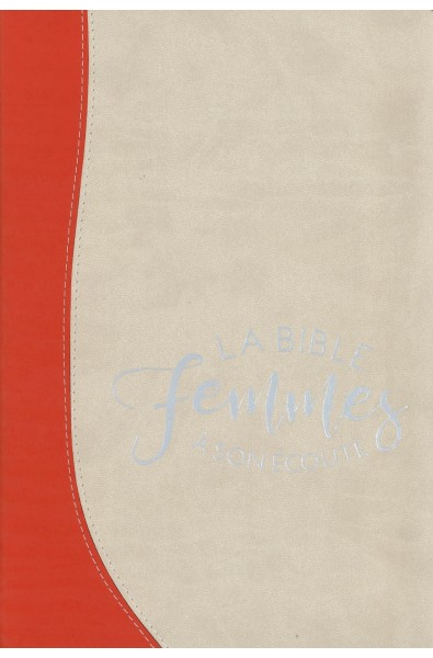Bible du Semeur - Femmes à son écoute - Duo feu/sable
