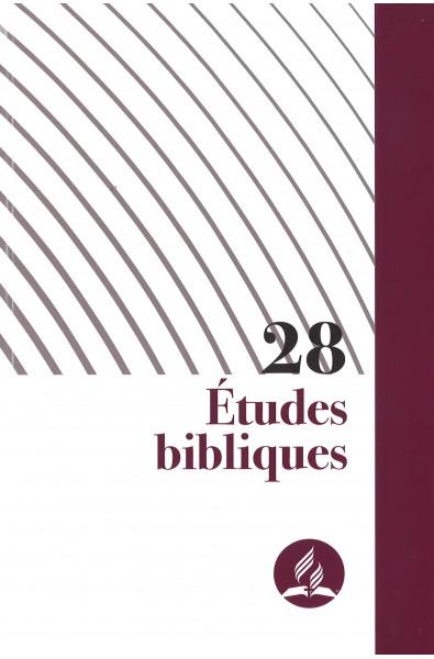 28 Etudes bibliques