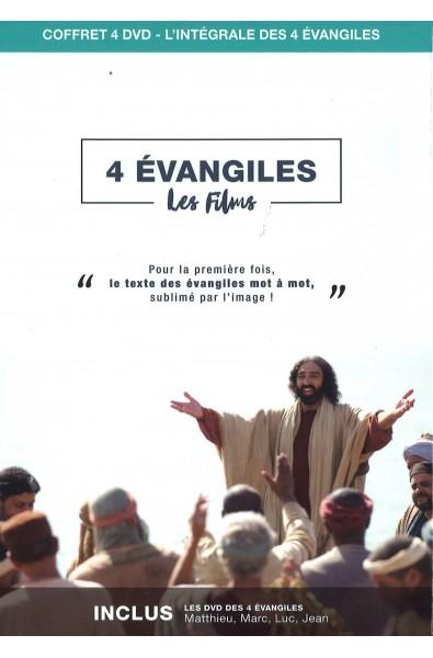 DVD coffret - 4 évangiles - Les films
