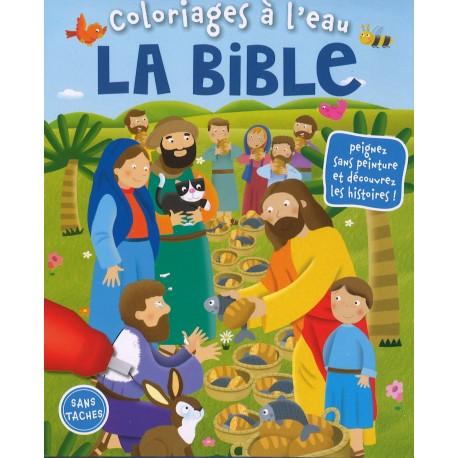 Coloriages à l'eau - Bible, la