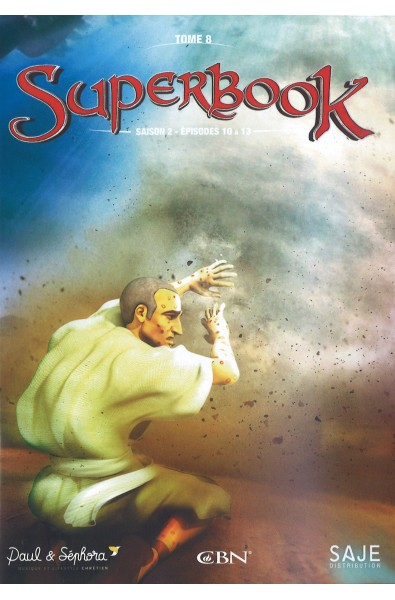 DVD - Superbook 8  Saison 2- Tome 8 Episodes 10-13
