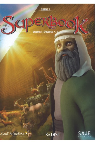 DVD - Superbook 7 (saison 2- épisodes 7-9)