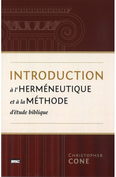 Introduction à l'herméneutique et à méthode d'EB