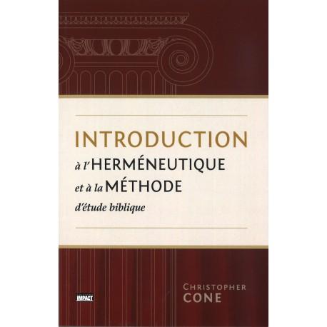 Introduction à l'herméneutique et à méthode d'EB