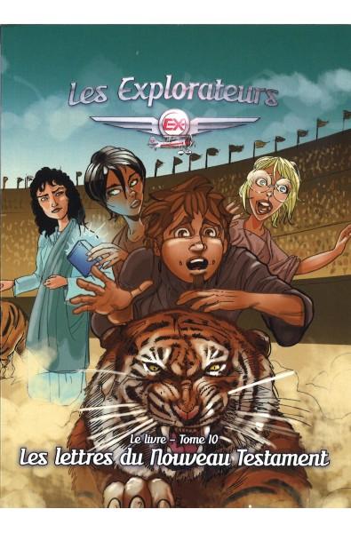 Explorateurs, Les - T.10 - Les lettres du Nouveau Testament
