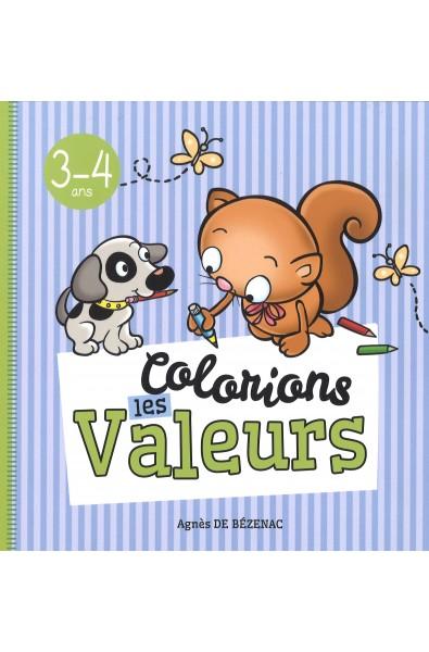 Colorions les valeurs - 3-4 ans