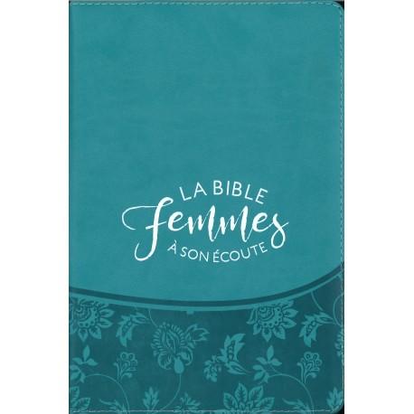 Bible Segond 1910 - Femmes à son écoute - Turquoise