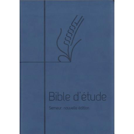 Bible du Semeur - Bible d'étude bleue, nouvelle édition