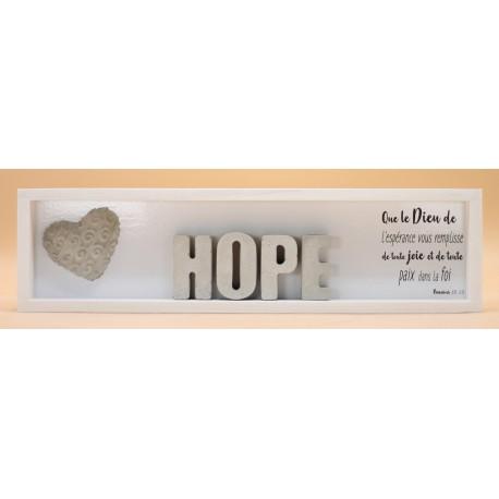Cementini - Cadre en bois HOPE rect