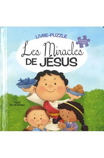 Livre-puzzle - Les miracles de Jésus