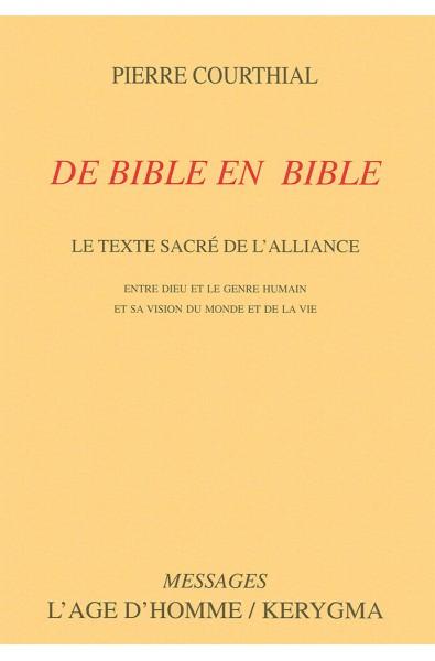 De Bible en Bible