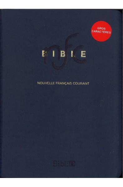 Bible Nouvelle Français courant Gros caractères