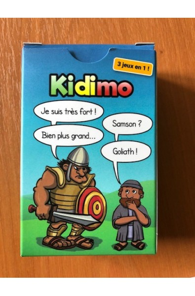 Jeu de cartes - Kidimo