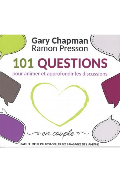 101 Questins pour animer et approfondir les discussions en couple
