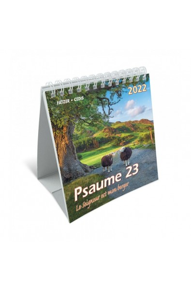 """Calendrier """"Psaume 23"""" 2022"""
