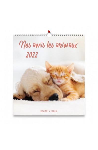 "Calendrier ""Nos amis les animaux"" 2022"