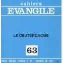 Cahiers Evangile - Le Deutéronome