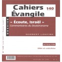Cahiers Evangile - Ecoute, Israël