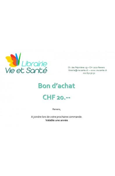 Bon cadeau CHF 20.--