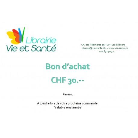 Bon cadeau CHF 30.--