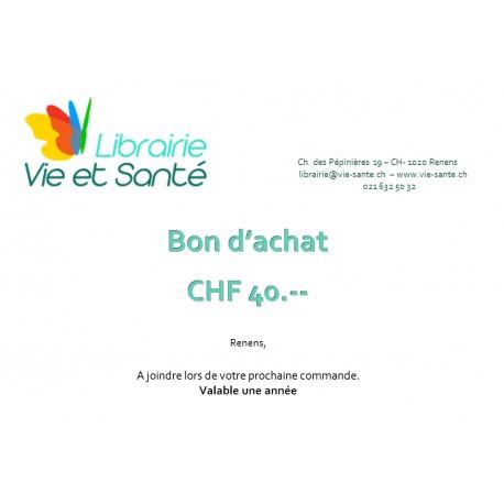 Bon cadeau CHF 40.--