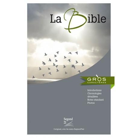 Bible Segond 21 gros caractère