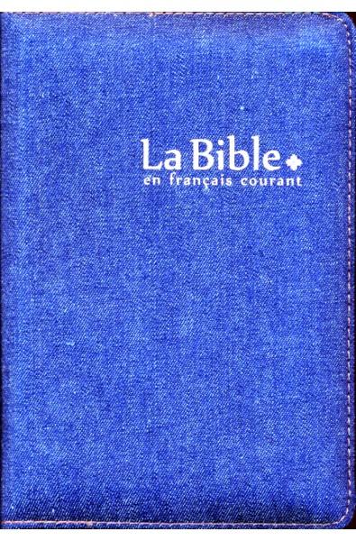 Bible FC, jeans, glissière, sans deutérocanoniques