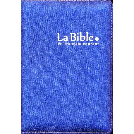 Bible FC, jeans, glissière, avec deutérocanoniques
