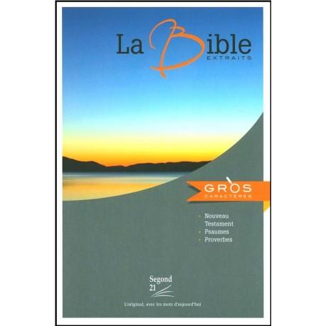 Bible Segond 21 - N.T. Ps. et Prov. gros caractères