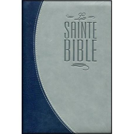 Bible Segond 21, Duo Bleu-Gris, tr. argent